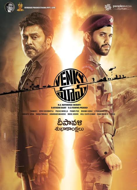 Venky Mama (2019) Dual Audio Hindi ORG 700MB UNCUT HDRip 720p HEVC x265 ESubs